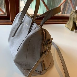 Fossil Bags - Fossil Sydney Satchel Mineral Gray